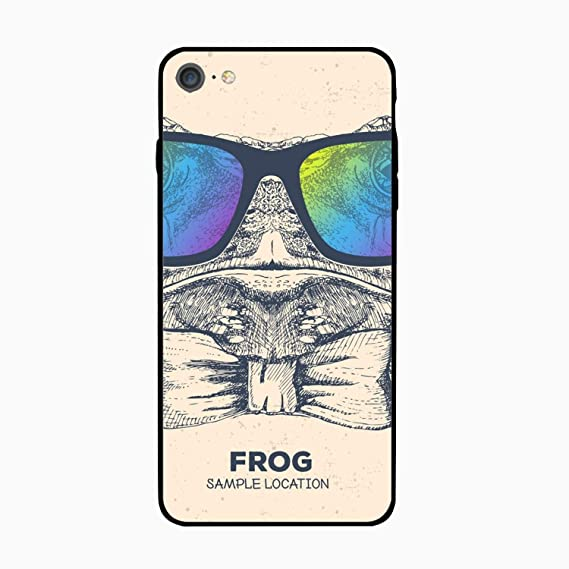 Amazon.com  iPhone 6S 6 Case Women Slim Hipster Animal Frog Hand ... 997fa6668