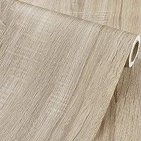 Zelfklevende Vinyl Rustieke Licht Hout Contact Papier Plank Liner voor Keuken Kasten Werkbladen Tafelmeubilair Lade…