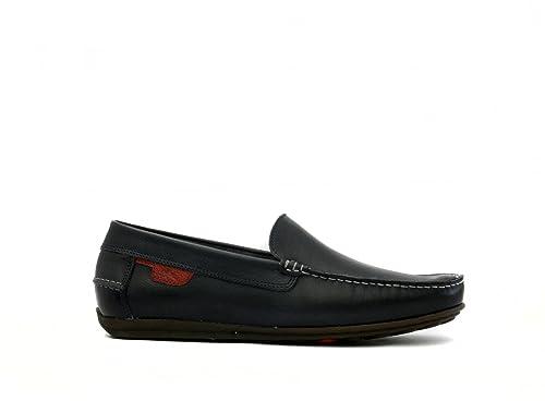 FLUCHOS Rudy, Mocasines para Hombre, Capri Marino Terracota, 39 EU: Amazon.es: Zapatos y complementos