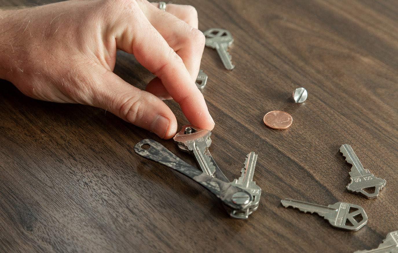 KeySmart up to 14 Keys Compact Key Holder and Keychain Organizer