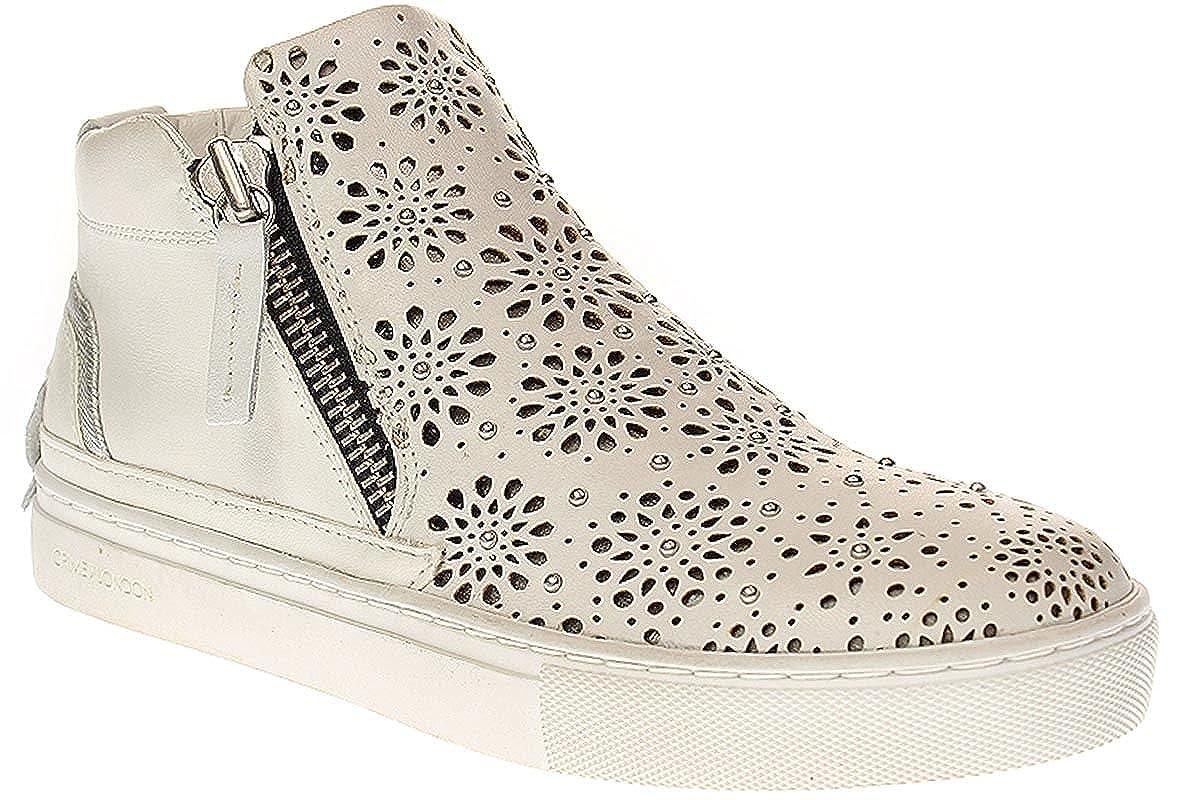 CRIME London Cruz - Damen Schuhe Turnschuhe -25343S17-10-Weiß