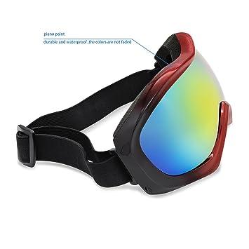 Amazon.com: anteojos de esquí, Testudo Snowboard Multicolor ...