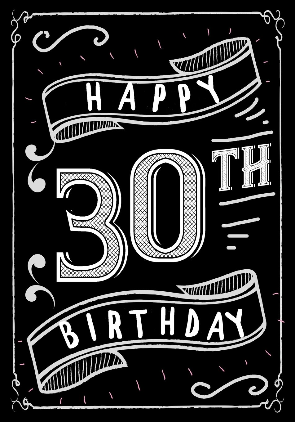 Read Online Happy 30th Birthday: Birthday Gifts For Men, Birthday Journal Notebook For 30 Year Old For Journaling & Doodling, 7 x 10, (Birthday Keepsake Book) ebook