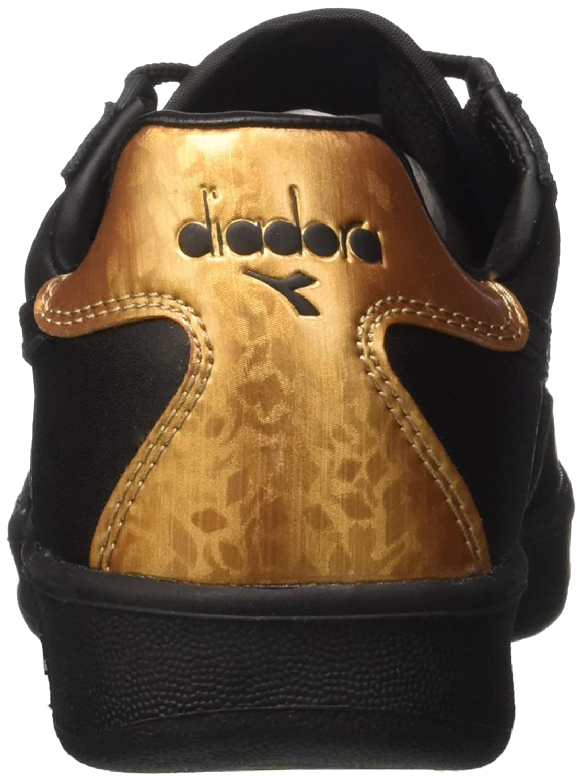 Diadora B.Elite W, Sneaker a a a Collo Basso DonnaNero e6887c