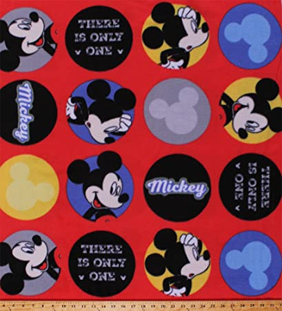 Amazon Com Fleece Mickey Mouse There Is Only One Disney Cartoon