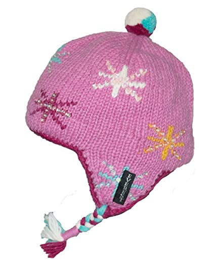 f178cd58b55 Amazon.com  Everest Designs Girls Twinkle Earflap