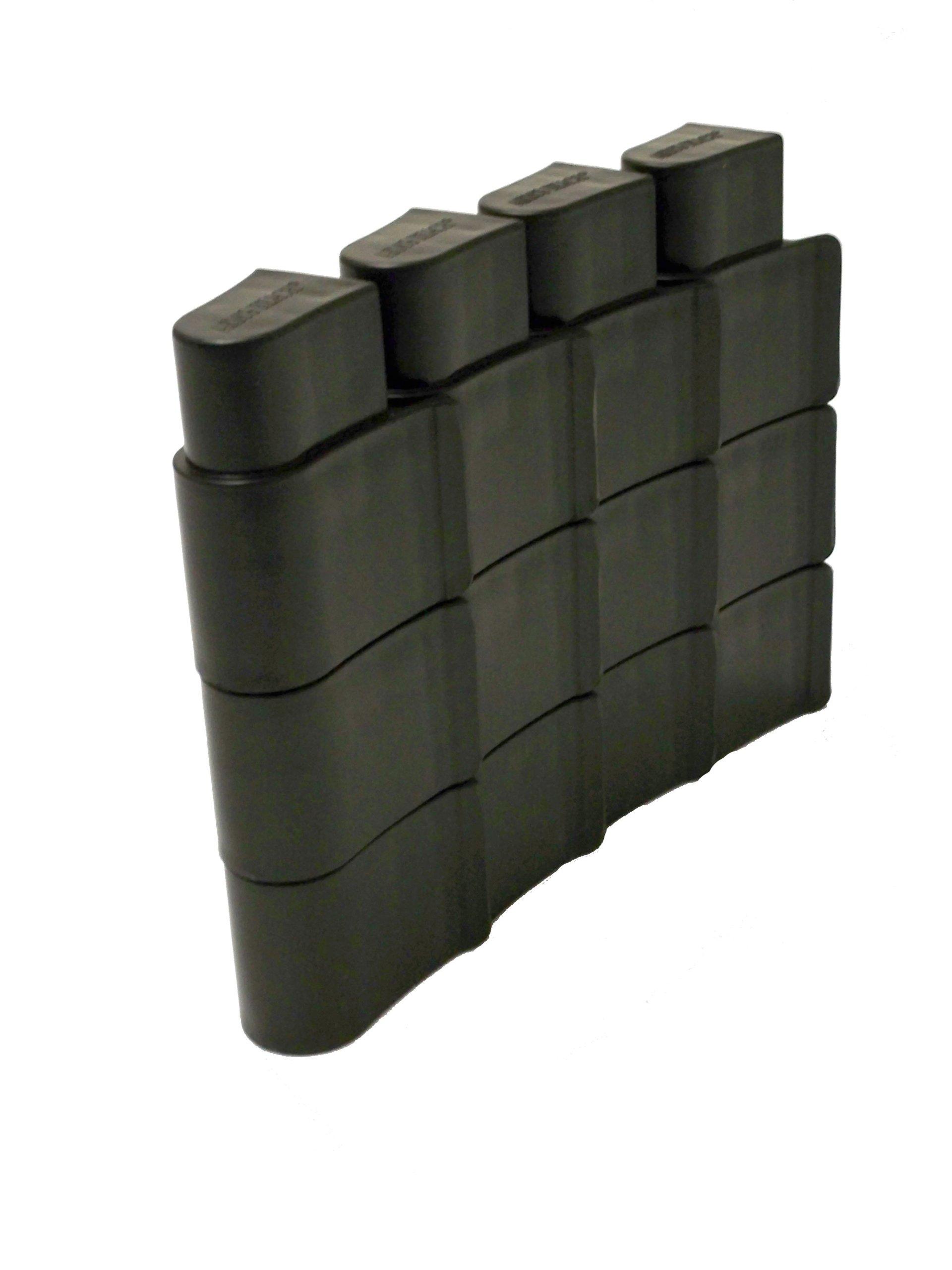 Arm's Reach Co-Sleeper Bassinet Leg Extension, Black