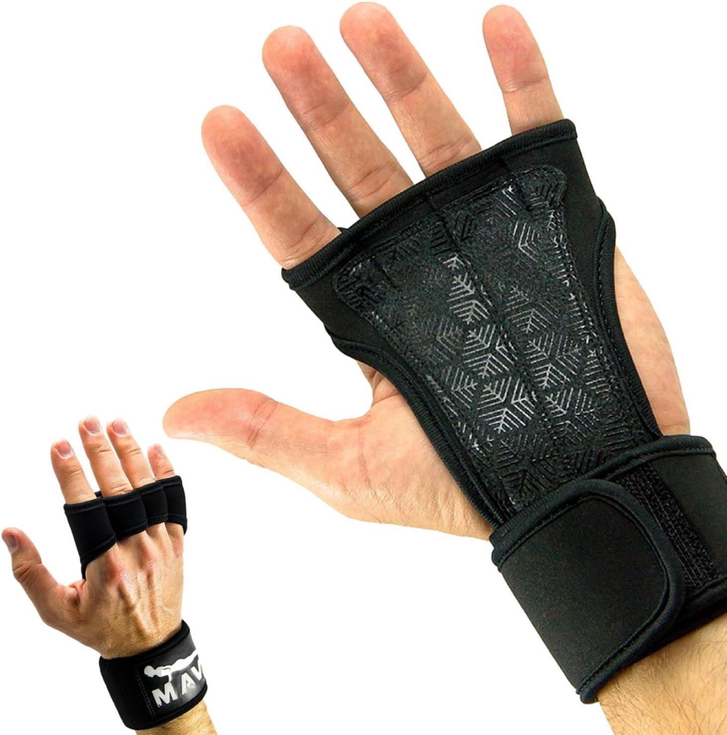 Néoprène Rembourré Haltérophilie Formation Gym Sangle Grip Heavyweight soutien
