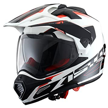 Astone Helmets Adventure-Tourer, Auriculares, color Blanco, talla L