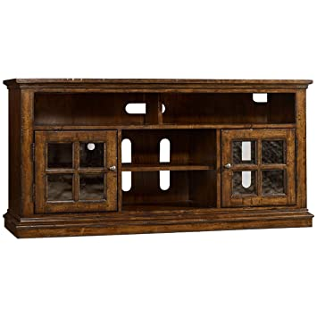 Amazon.com: Hooker Brantley TV Stand in Dark Wood: Kitchen & Dining