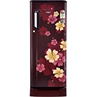Whirlpool 200 L 3 Star Direct Cool Single Door Refrigerator(215 IMPowerCool Roy 3S, Wine Iris, Base Stand with Drawer)