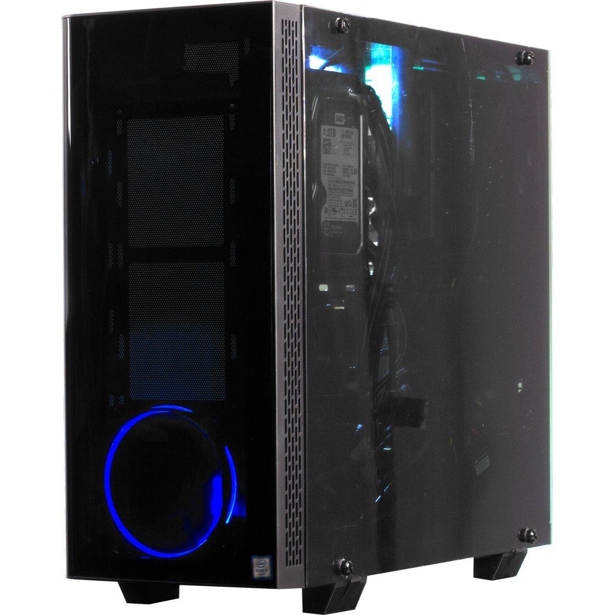 iBUYPOWER Gaming Elite Desktop PC Liquid Cooled AM8440i Intel i7-8700k 3.70GHz, NVIDIA Geforce GTX 1060 6GB, 16GB DDR4 RAM, 1TB 7200RPM HDD,  240GB SSD, Wifi, RGB, Win 10, VR Ready by iBUYPOWER (Image #3)