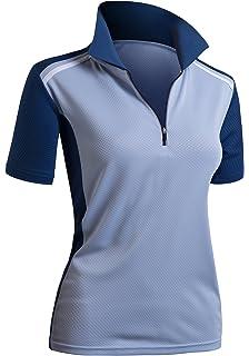 ca14ea3c866aa Ariat Womens Standard Prix Short Sleeve Polo  Amazon.ca  Clothing ...