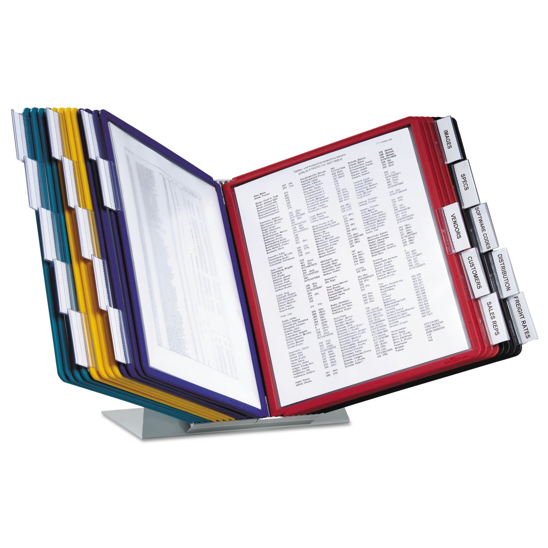 Durable 536100 Vario Reference Desktop System, 20 Panels