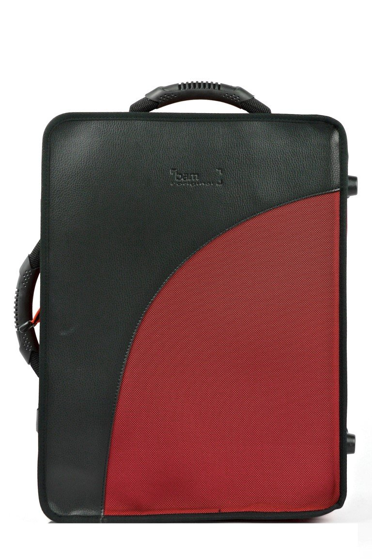 Bam Trekking Double Clarinet Case Bb & A - Red - 3028SH
