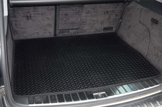 carmats4u Tailored Boot Liner//Tray//Mat for Freelander II 2007 /& Anti-Slip Grey Carpet