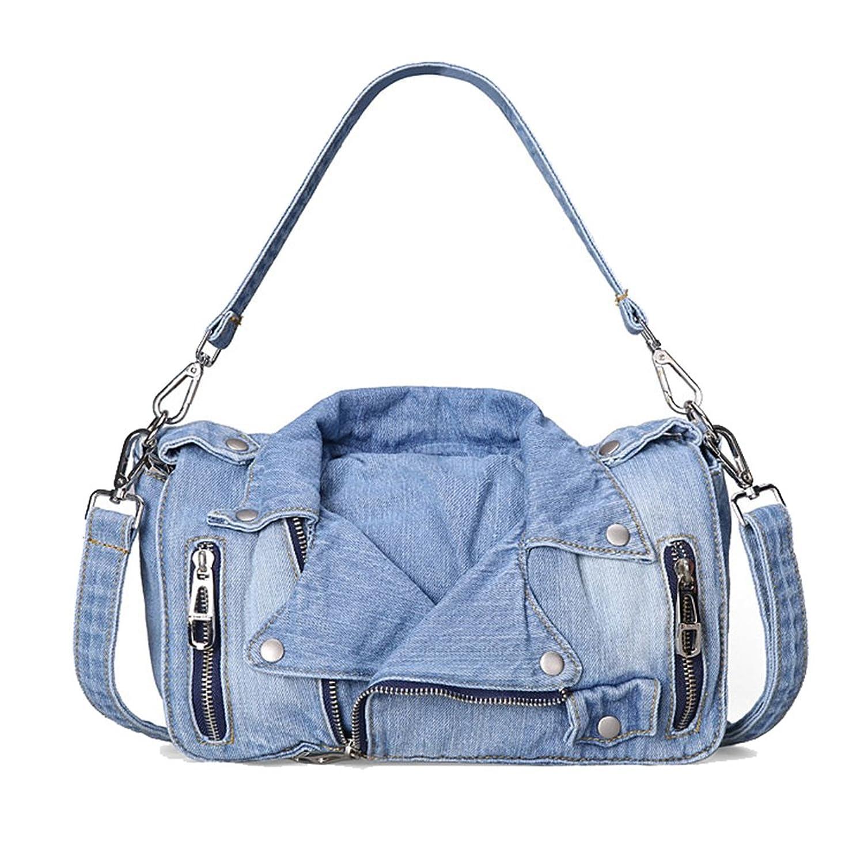 Genda 2Archer Women Vintage Tote Denim Shoulder Bag Handbag Satchel Hobo Bag 3 Color