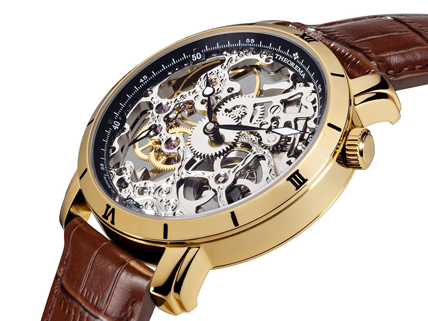 Amazon.com: Made in Germany GM-107-3 Rio Theorema Mechanical Watch: Watches