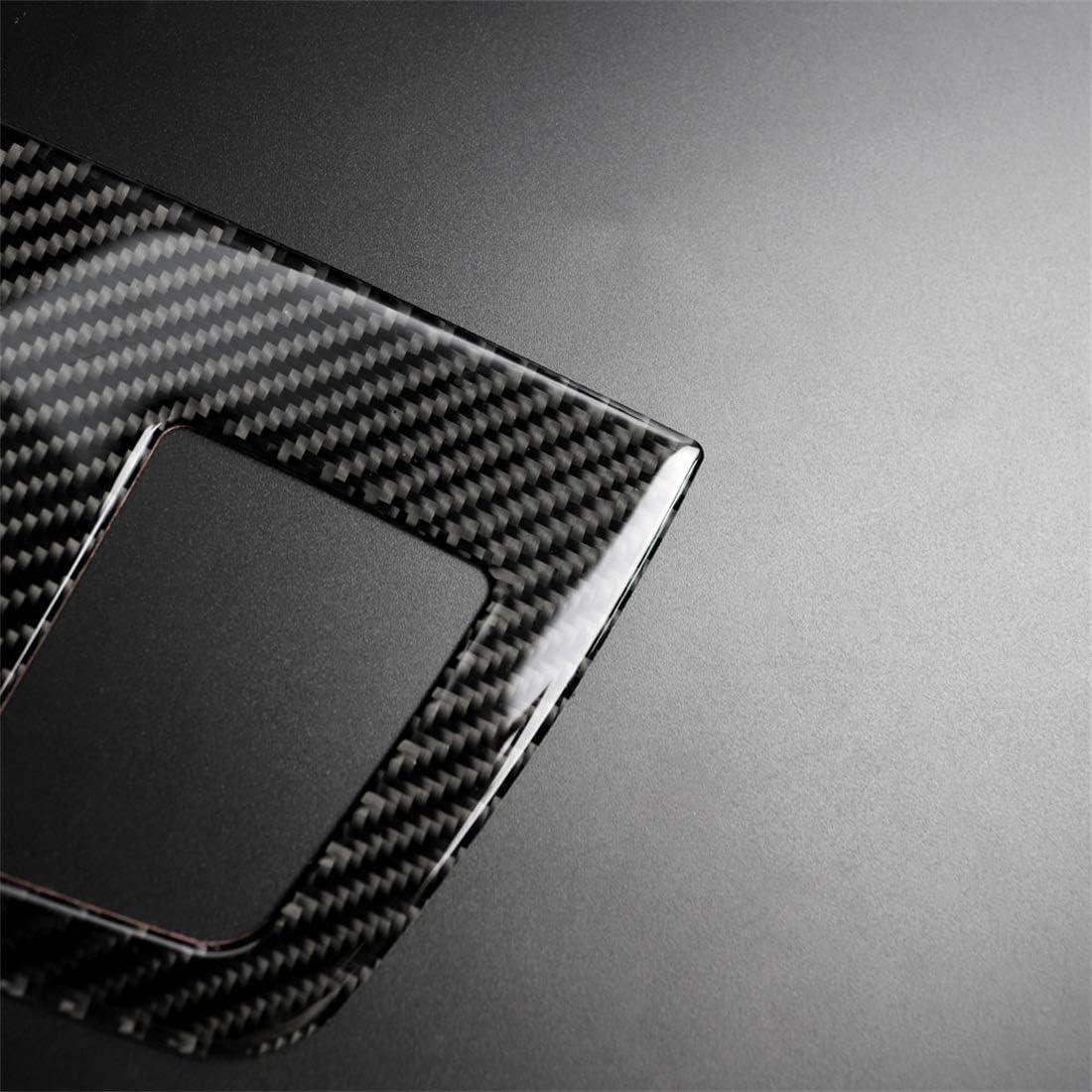 Semplice e Pratico Leluckly1 Facile da smontare e installare Fibra di Carbonio Strumento dellautomobile Grande Outlet Adesivo Decorativo for BMW E90 2005-2012