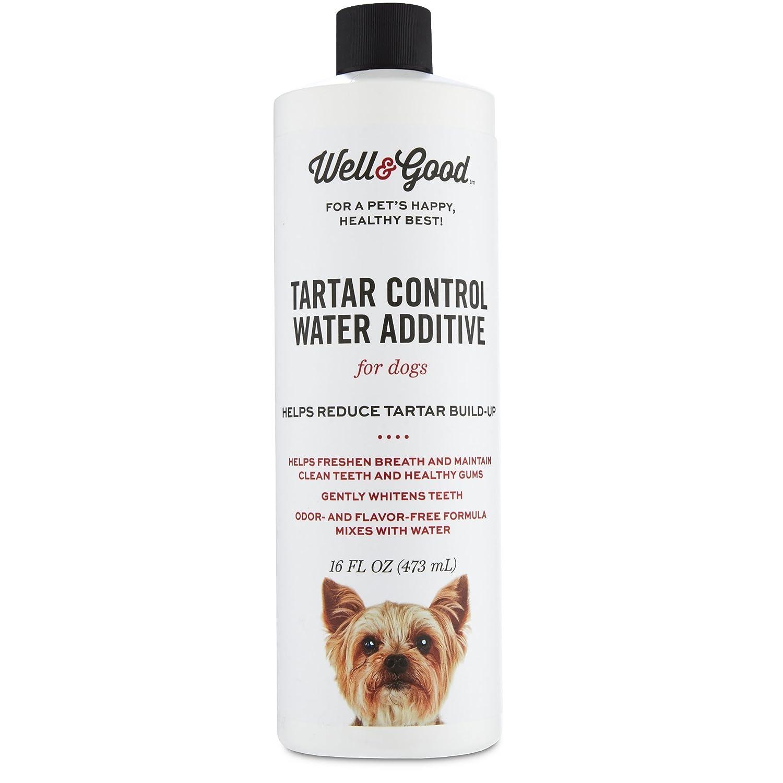 16 FZ Well & Good Tartar Control Water Additive for Dogs, 16 fl. oz, 16 FZ