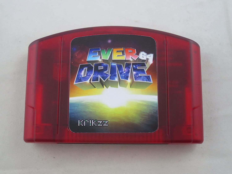 Everdrive 64 V2.5 w/ Multi-CIC installed, Multi-regional Flash Cart for Nintendo 64 system
