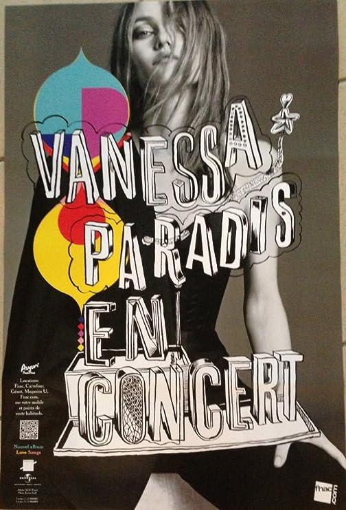Vanessa Paradis, 80 x 120 Cm, diseño de cartel-Póster: Amazon.es: Hogar