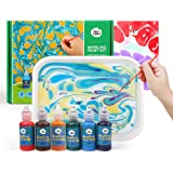 Jar Melo Marbling Painting Kit;Non-Toxic;Painting on Water; Creative Marbling Art for Children