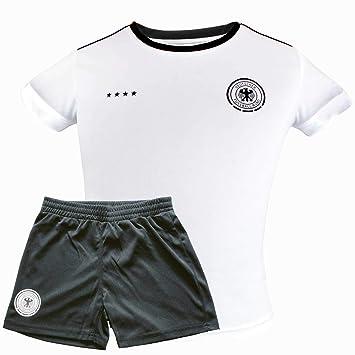 Details zu Original Adidas Deutschland Kinder Jungen Trikot + Hose Gr. 164 (13 14 Jahre)
