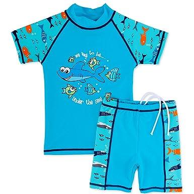 8a351e3041f25 Amazon.com: BAOHULU Boys' Short Sleeve Separate UV Sun Protection ...
