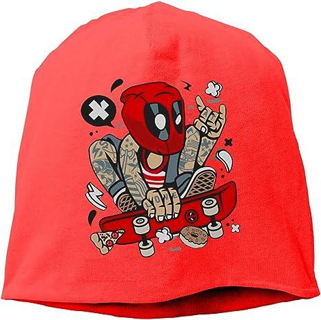 YUYU YU Deadpool Skater Classic Beanies - Gorro de Punto, Color ...