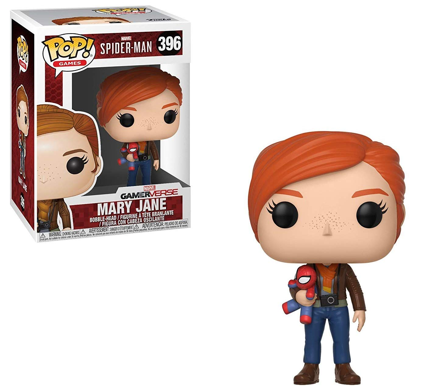 Funko Pop! Marvel: Spider-Man Video Game - Mary Jane Vinyl Figure (Bundled with Pop Box Protector Case) by Funko (Image #5)