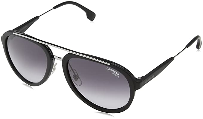 86f4376a0d Carrera Metal Aviator Sunglasses 57 0TI7 Matte Black Ruthenium 9O dark gray  gradient lens