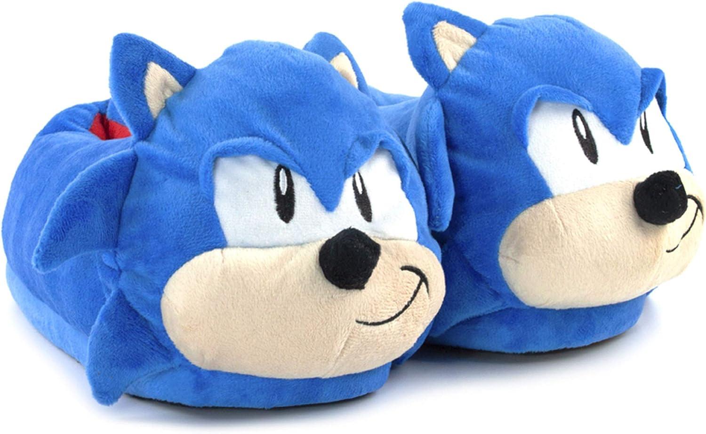 Sonic The Hedgehog Men's Slippers 3D