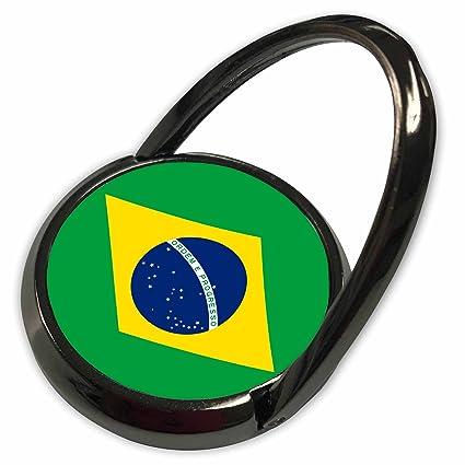 e3eb2567d48 3dRose InspirationzStore Flags - Flag of Brazil - Bandeira do Brasil - Brazilian  green yellow rhombus