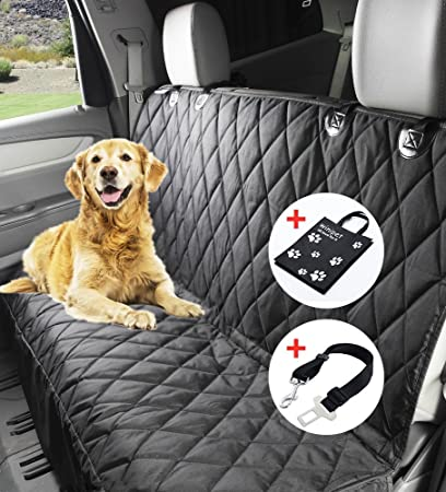Bache protection voiture chien