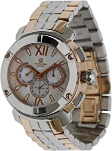 Christian Geen Analog Watch For Men - Stainless Steel, Multi Color - 4849Gbrs-Wh