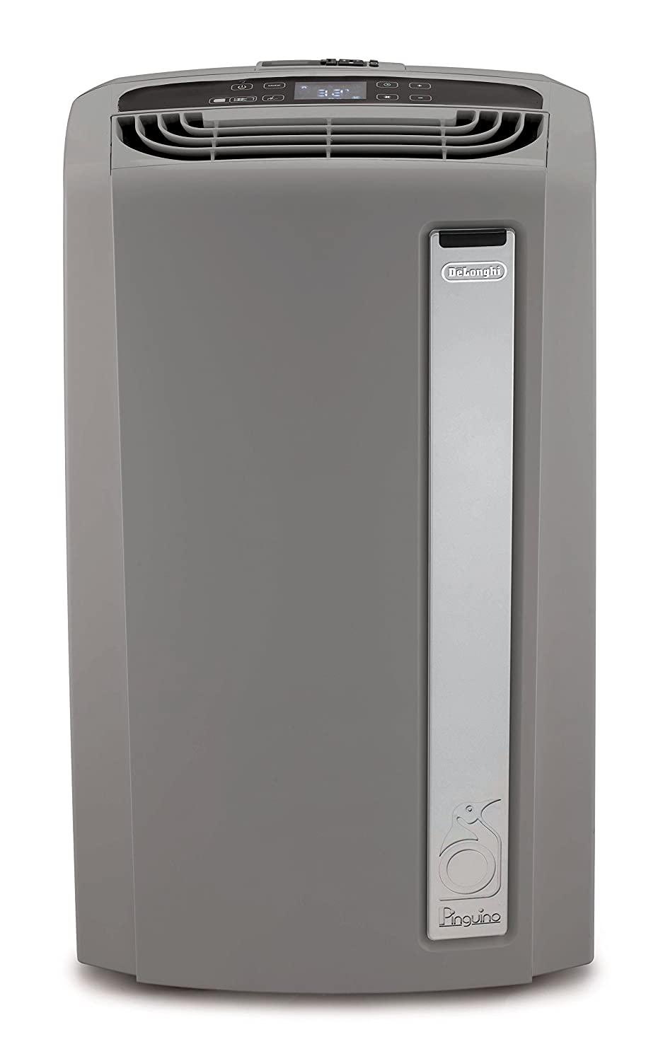 DeLonghi Whisper Cool Portable Air Conditioner, 550 sq. ft, Light Gray