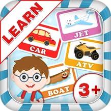 Learn Vehicle Names - Kids Fun