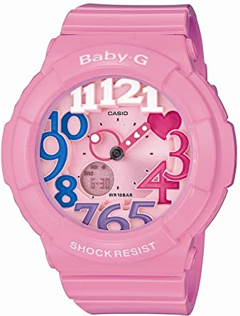 f1da9e0dd382 Image Unavailable. Image not available for. Color: Casio Baby-G Neon Dial  Series Women's Watch BGA-131-4B3JF ...