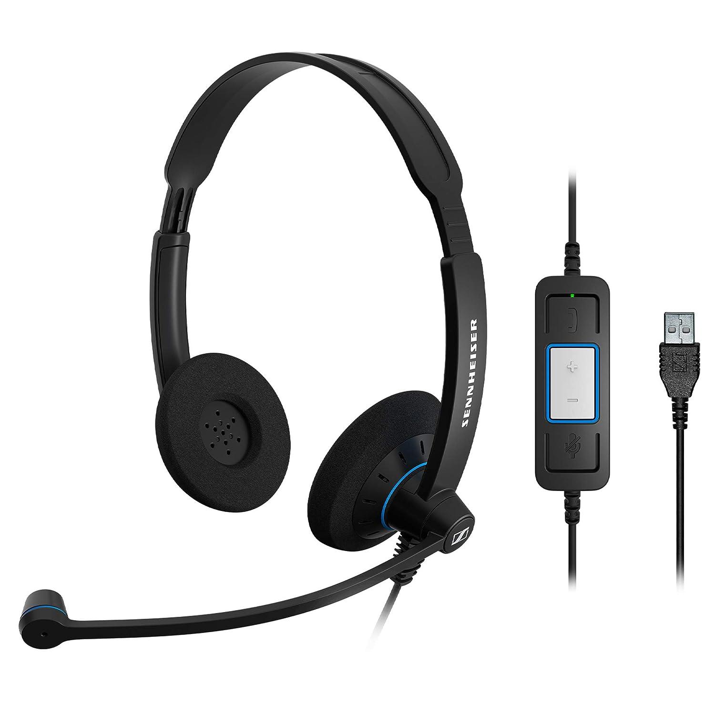 dcef8bfc01c Sennheiser SC 60 USB CTRL (504549) - Double-Sided Business Headset