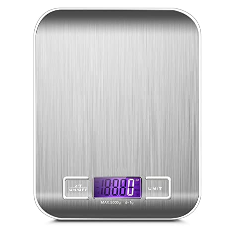 Báscula digital Cocina, Smart Weigh, Mini Balanza Escala Multifuncional electrónica para Alimentación, Joyería