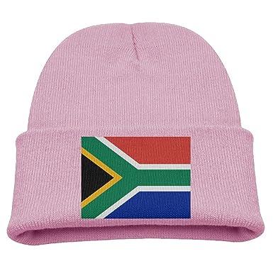 ZWZ Flag Of South Africa Kid s Hats Winter Funny Soft Knit Beanie Cap  children Unisex - 9acfcf3818b