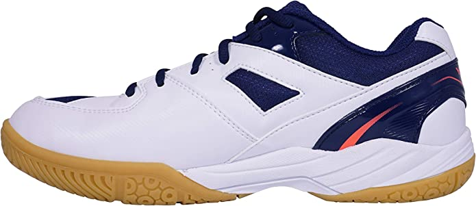 Victor SH-A184 Zapatos de b/ádminton Unisex Adulto Wei/ß//Blau 45.5 EU