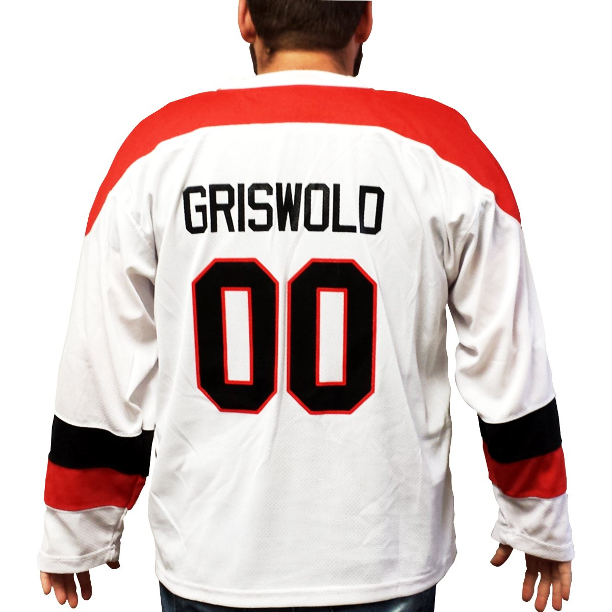 f6a28efa8 Clark Griswold Hockey Jersey Christmas Vacation 00 Xmas Movie Chicago  Griswald My Party Shirt