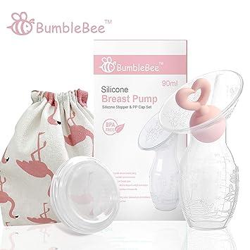 Amazon.com: Bumblebee - Bomba de pecho manual para lactancia ...