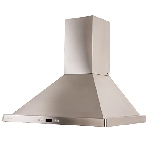 Cavaliere SV218B2 30 Wall Mount Range Hood With 900 CFM In Stainless Steel