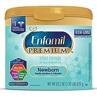 Enfamil Newborn PREMIUM Non-GMO Infant Formula, Powder, 22.2 Ounce Reusable Tub