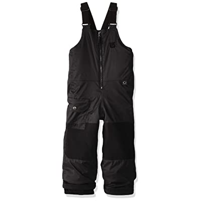 Burton Boy's Minishred Maven Bib Pant, True Black, 3T