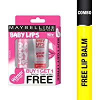 Maybelline New York Winter Promo, Pink Lolita, 4g with Free Strawberry Crush, 9ml