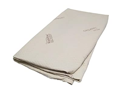 Amazon Com Snuggle Pedic Memory Foam Mattress Protector Organic